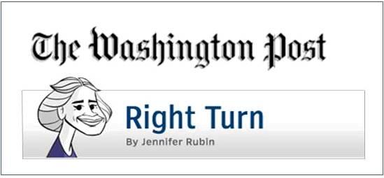 Washington Post Jennifer Rubin Right Turn logo