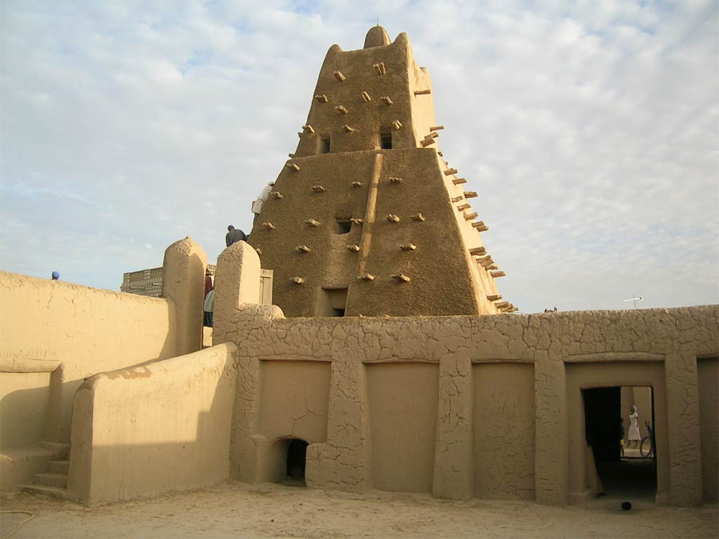 Sankore mosque in Mali's fabled city of Timbuktu. Photo: UNESCO/F. Bandarin