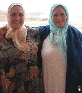 Yamna Beyekkou and Yamna Benali are excited for their newfound opportunities, thanks to the training they received