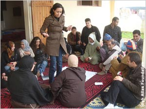Building community consensus for participatory development projects is a strong point for the High Atlas Foundation.