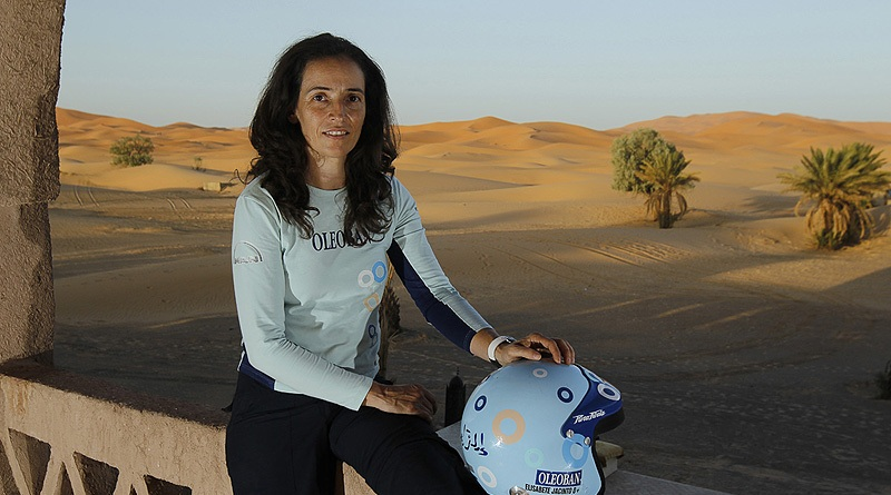 """I must drive well, without making any mistakes,"" says Elisabete Jacinto, Portugese race driver, before tomorrow's start in Morocco of the 13-day, 5,796-kilometer Africa Eco Race."