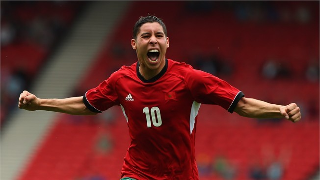 After just two years in the Spanish Primera Division, Morocco's gifted midfielder, Abdelaziz Barrada, is making a name for himself.