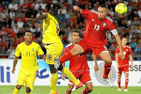 Morocco scored a brilliant 4-0 victory over Mozambique in October to qualify for the 2013 African Cup of Nations.