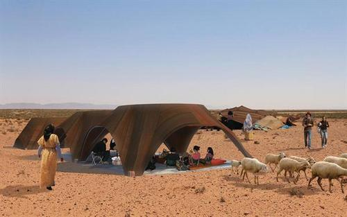 Designing Ecological Tourism (DET): Collaborative research program led by Ass't Professor Aziza Chaouni was recognized by Progressive Architecture Awards for project on Ain Nsissa Eco Tourism Facilities in Bouarfa, Morocco.