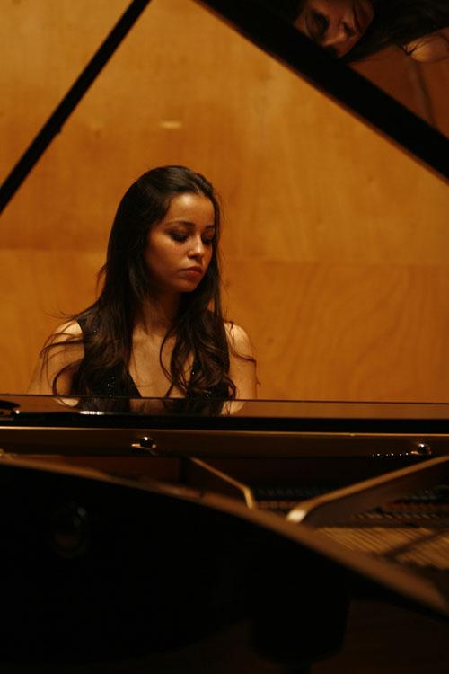 Moroccan pianist Rita Saher
