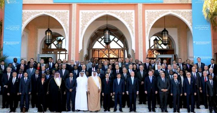 "Morocco hosted 4th ministerial meeting of the international ""Friends of Syria"" group in Marrakech Dec. 12"