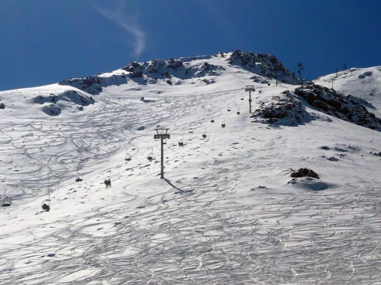 Oukaimeden Ski Resort in Morocco.
