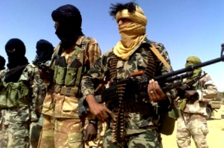AQIM and the different marauding drug and gun running gangs in the Sahel were opportunistic invaders who rode on the pre-existing Touareg insurgency to establish a foothold in Northern Mali.