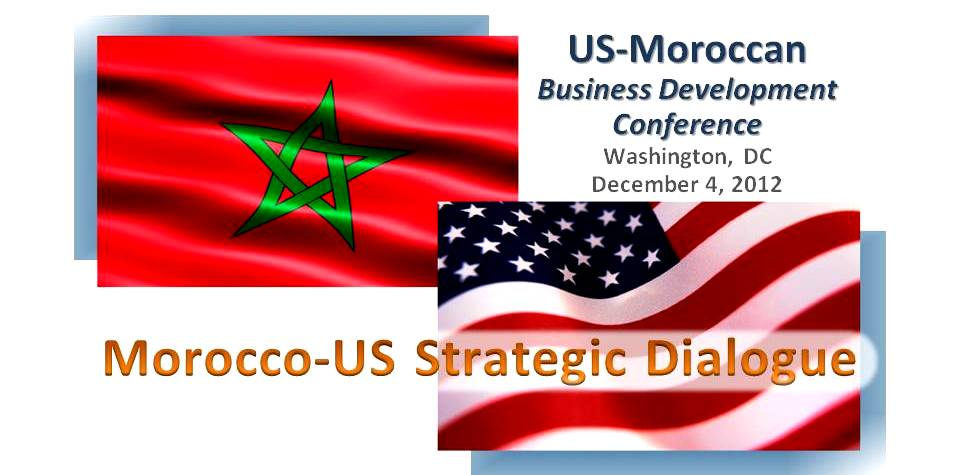 US-Moroccan Business Development Conference 4Dec2012