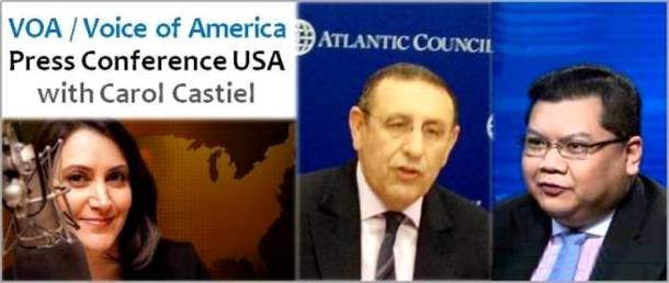 Morocco's Deputy Foreign Minister Youssef Amrani and Atlantic Council's J. Peter Pham discuss Sec. Clinton's trip to Morocco this week with host Carol Castiel on VOA's Press Conference USA (Dec.8)