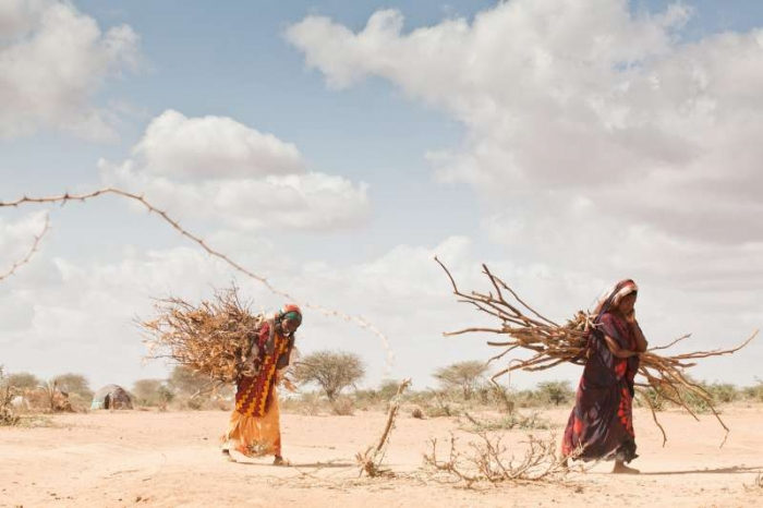 Drought & conflict driving displacement across Africa's Sahel.  Morocco and Germany organized a UN special session in Sept. on the impact of climate change on food security, emphasizing that sustainable development is critical for peace and stability. Photo:UNHCR/B.Bannon