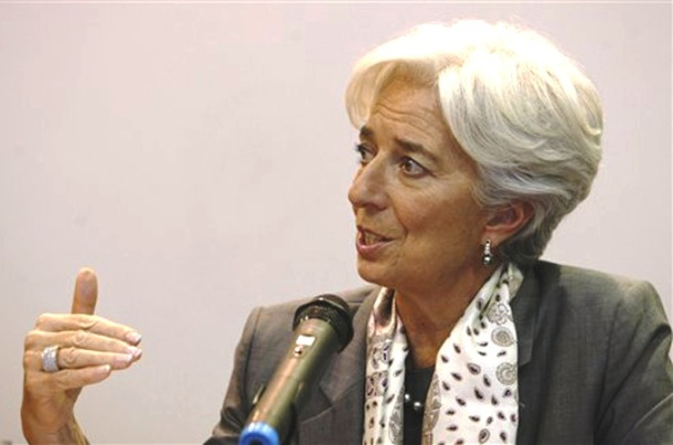 At Arab Maghreb Union meeting in Mauritania, Christine Lagarde, head of the IMF, lauded creation of the bank, which will partner with private sector to finance infrastructure, development projects in Algeria, Libya, Mauritania, Morocco and Tunisia. [AP]
