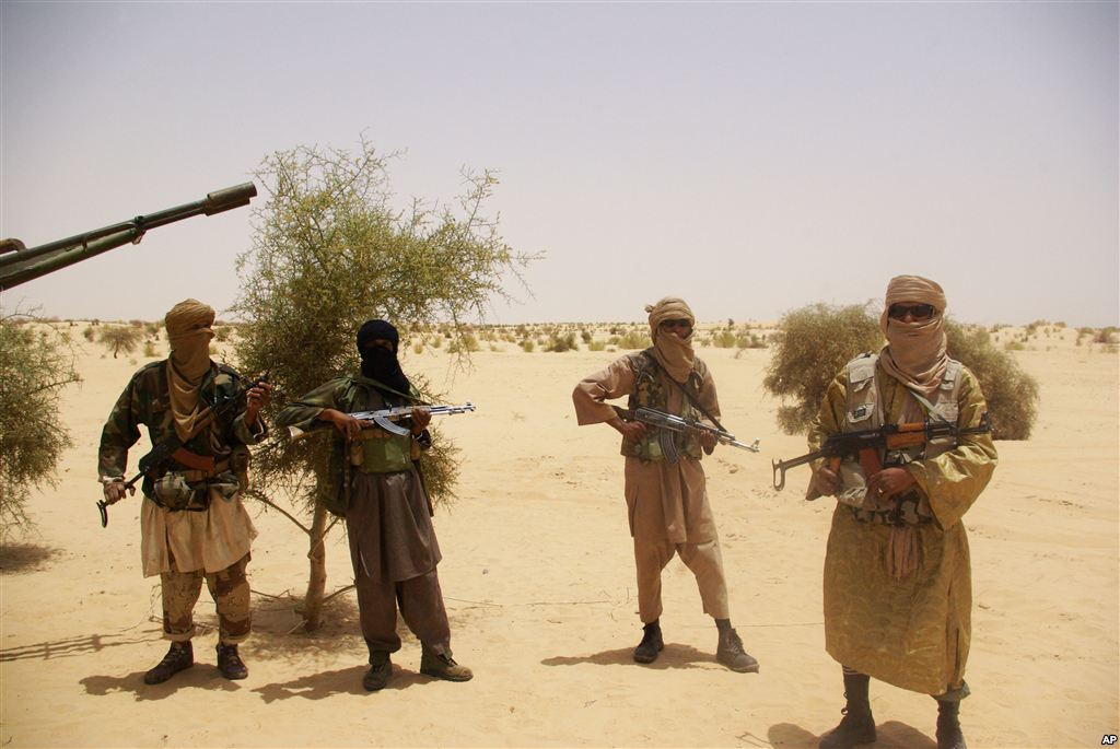 "More than 4,000 al-Qaeda-linked jihadists remain in N. Mali from AQIM, Ansar Dine, and MUJAO, including ""300 fighters from the Polisario, 200 from Boko Haram"" and recruits from elsewhere in the region. Al Arabiya. Photo: AP"
