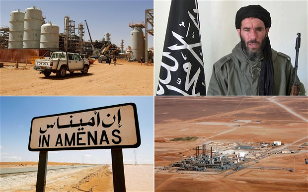 30 foreign hostages are unaccounted for 3 days into a bloody siege with al-Qaeda-linked militants at a gas plant deep in the Sahara. Militants reportedly offered to trade two American hostages for terror figures jailed in the US. Photo: Telegraph