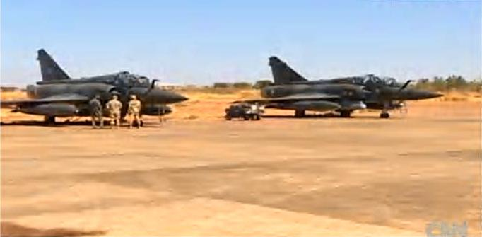 More French aircraft arrive in Mali - CNN Security Clearance