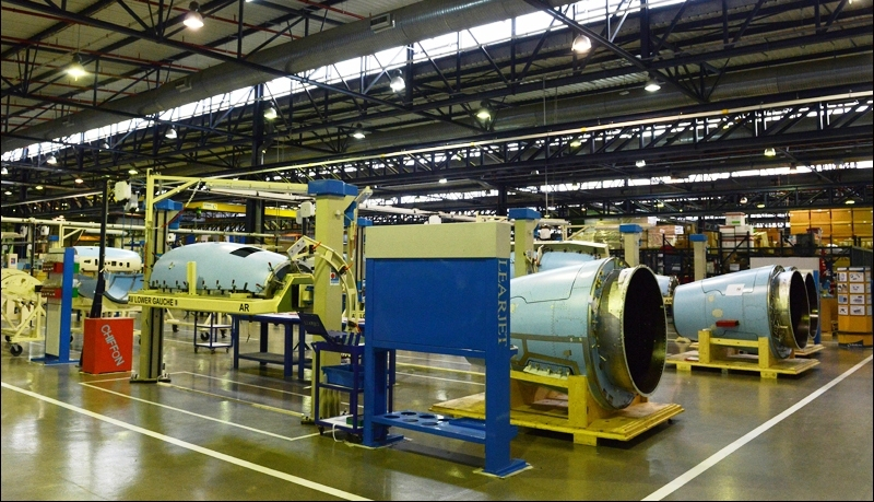Aeronautical factories can support the Moroccan economy, officials say. [AFP/Fadel Senna]