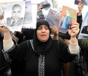 Families of police killed in Laayoune