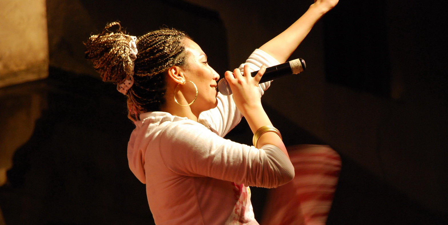 Soultana and her band won Morocco's biggest amateur music competition a few years back and promptly became the most recognized female rap group in Africa.
