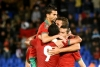Atlas Lions celebrate Morocco's 2-1 win in friendly match over Mali team that took 3rd place in recent Africa Cup of Nations competiton
