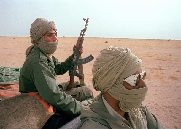 On March 1 a Polisario fighter with AQIM was reported arrested after battle with French-Chadian forces killing al-Qaeda leader Abou Zeid, 42 other militants. Le Figaro, France24  Mali Foreign Min. confirms Polisario fighters with terrorists in Mali. Photo: Polisario fighters from Tindouf camps in Algeria. AFP