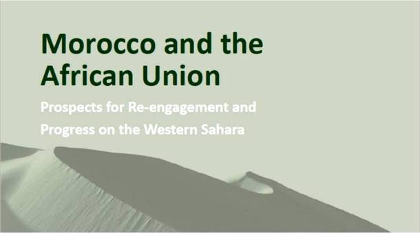 """Morocco & the African Union"" authored by Atlantic Council's J. Peter Pham & Brenthurst Foundation"
