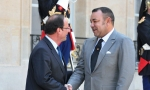 gneufferHM King Mohammed VI (r) and French president François Hollande meet today in Casablanca as French delegation begins official two-day state visit to Morocco.