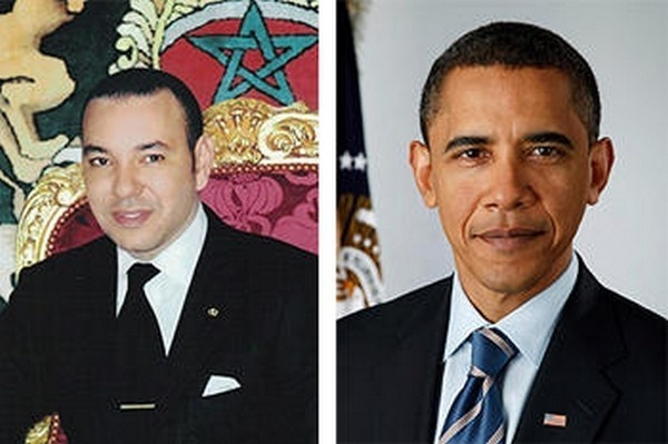 King Mohammed VI received a phone call yesterday from President Obama, in which the two leaders reaffirmed the historic relationship between Morocco and the US and agreed to intensify political consultation.  Obama invited the King to visit Washington in 2013; a date for the trip has not been set.