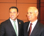 gneufferRepresentative Michael Grimm (R-NY), co-chair of the US Congressional Morocco Caucus, and Morocco's Ambassador to the US, Rachad Bouhlal, on Capital Hill at event to mark launch of Congressional Morocco Caucus.Representative Tulsi Gabbard (D-HI) and Morocco's Ambassador to the US, Rachad Bouhlal