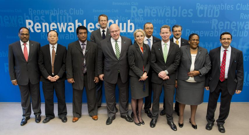 Renewable Club members meet in Berlin, June 1, 2013. BMU / Ute Grabowsky, photothek.net