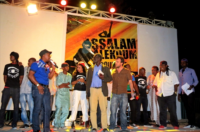 Rappers from the Maghreb and beyond take part in the Assalamalekoum Festival preliminary contest. Jemal Oumar, Magharebia
