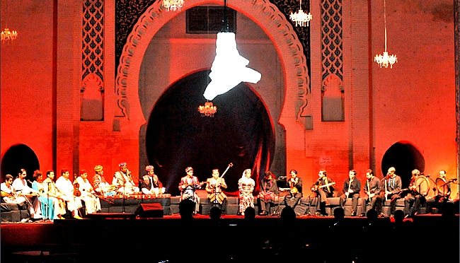 The Fez Festival of Sacred Music helps to spread universal values of diversity, tolerance, and openness, especially among young people. [AFP/Abdelhak Senna]