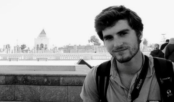 "Andrew D. Pochter, the young American teacher killed during protests in Alexandria, Egypt  Friday night, was ""filled with Arabic language and with the Arab world,"" said Hachimi Taoufik, who taught him during his year-long stay in el-Jadida, Morocco from June 2010 to June 2011 on a US State Department program. Al Arabiya Photo: Pochter Family, Via AP"
