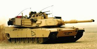 Lima-built M1A1 tanks