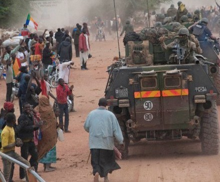 French troops enter Mali to oust pro-al-Qaida forces who had staged a coup. Arab Spring Now