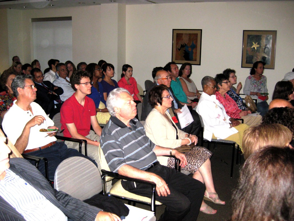 More than 100 people attended screening in Washington, DC on May 29, 2013.