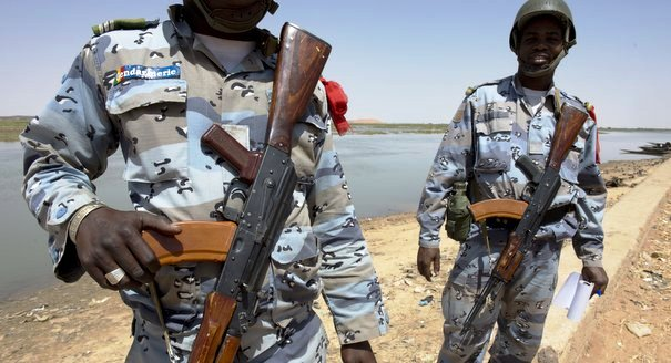 Given the grim prospects for resolving the crisis in Mali, North African governments will have to look South on security matters for years to come.  Photo:  Malian gendarmes in Gao.  AFP