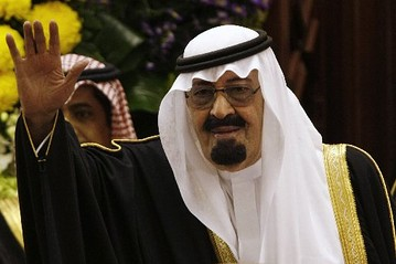 [PHOTO] King Abdullah cut short his private visit to Morocco to return to Saudi Arabia. Associated Press
