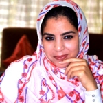 Rakiya Eddarhem is a Sahrawi and Member of Morocco's Parliament, representing Laayoune.