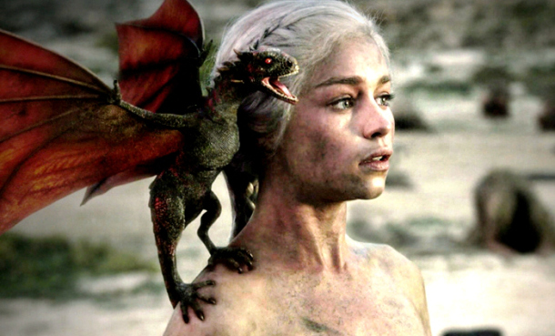 In season 3, Daenerys Targaryen emerges as the Mother Of Dragons, which the Game of Thrones producers filmed near Ouarzazate, gateway city to the Sahara, in Morocco, to bring George R.R. Martin's fictional world to life. NBC, UnrealityTV