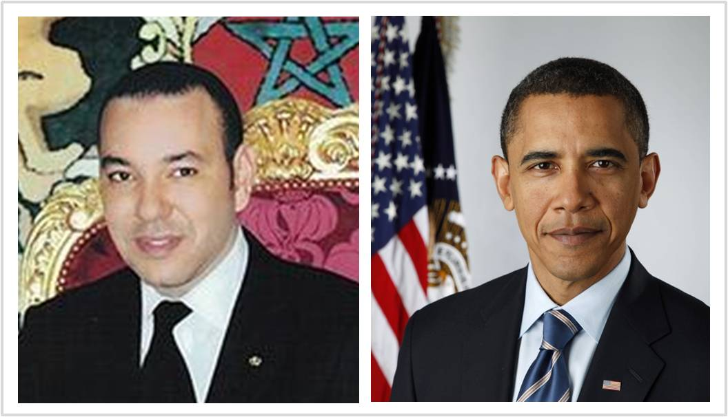 Morocco's King Mohammed VI congratulates US President Barack Obama on Independence Day